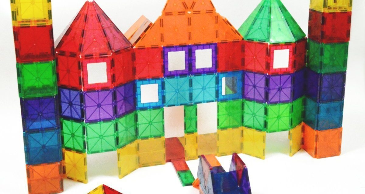 Magna-Tiles 15Piece Stardust Set, The Original, Award-Winning Magnetic Building Tiles, Creativity & Educational, Stem Approved, Glitter and Mirrors (Pack of 15) by Magna-Tiles $ $ .